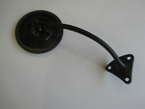 "5"" BLACK GUARD OR DOOR MOUNT MIRROR RIGHT SIDE NEW FENDER HOLDEN FORD CHEV"