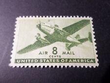 ETATS UNIS, USA, timbre AERIEN 27 POSTE AERIENNE AVION oblitéré VF used AIRMAIL
