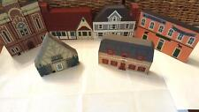 Cat's Meow Series VI Lot of 6 building 1988 Church, Pruyn House, Market, Gallery