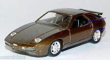 SOLIDO voiture PORSCHE 928 GT de 1989 marron Kleines Auto brown miniature car
