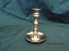 One Hampton Brass Candlestick Holder  #192