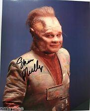 "Ethan Phillips as Neelix in Star Trek Voyager Autographed 8""X10"" Color Postcard"