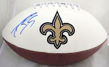 Drew Brees Signed New Orleans Saints Logo Football JSA