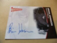 GERRY ANDERSON THUNDERBIRDS SERIES 2 BRIAN JOHNSON BJ1 AUTOGRAPH CARD BLUE INK