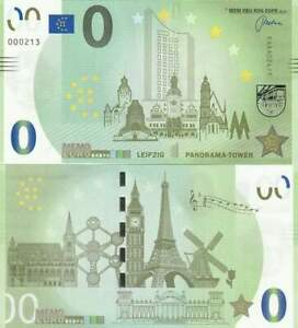 Biljet billet zero 0 Euro Memo - Leipzig Panorama Tower (043)