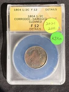 1804 Half Cent K340