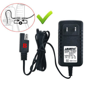 Charger Adapter for Pacific Cycle DISNEY PRINCESS KT1227WM QUAD Ride ON Power