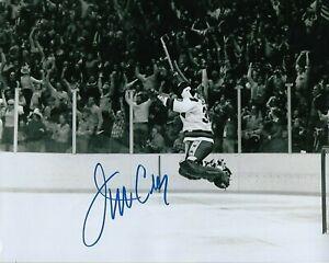 GFA 1980 Miracle on Ice Goalie JIM CRAIG Signed 8x10 Photo COA