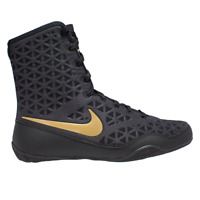 Nike KO Boxing Boots Shoes Mens Womens Box Trainers Black