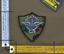 """Ricamata / Embroidered Patch IT SF 4°Rgt """"Ranger"""" Veget. with VELCRO® brand hook"""