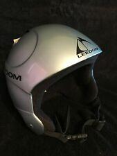 Leedom Ski Snowboard Helmet - Metallic Silver - Medium