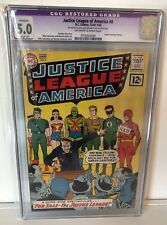 JUSTICE LEAGUE OF AMERICA #8 - CGC 5.0 - OW/W PAGES