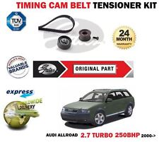 FOR AUDI ALLROAD QUATTRO 2.7  30V 2000-2005 GATES TIMING CAM BELT KIT