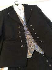 EU 48 Small ADULT MENS NORWEGIAN BUNAD FROM NORWAY VEST, JACKET,KNICKERS & SHIRT