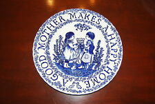 ROYAL CROWNFORD STAFFORDSHIRE ENGLAND TRIBUTE MOTHERS DAY PLATE BY NORMA SHERMAN