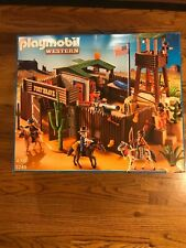 Playmobil 5245 Western Fort Brave New But Dinged Box