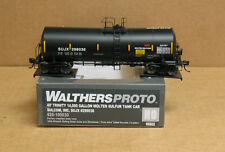 Walthers 920-100030 HO SUJX 40' Trinity 14k gal. molten sulfur tank car #299036
