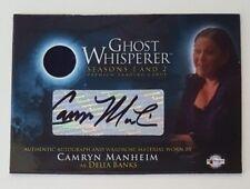 GHOST WHISPERER S1&2 Camryn Manheim 'Delia Banks' Auto Wardrobe Card Autograph