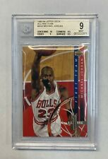 1993 UPPER DECK ALL NBA TEAM #AN4 MICHAEL JORDAN BGS 9 LOW POP