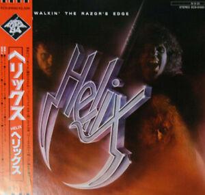 Helix (3) - Walkin  The Razor s Edge / VG+ / LP, Album