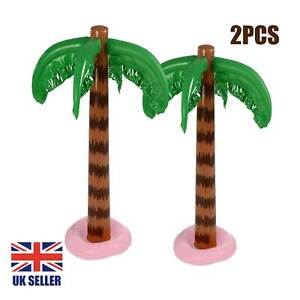 2X Blow-up Inflatable Palm Tree 90CM Hawaiian Hen Stag Birthday Party Decor Tree