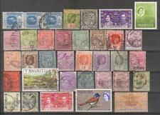 9887- Mauritius , British Colonies, collection of stamps