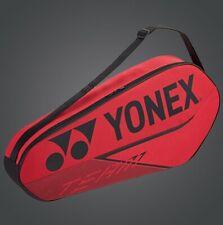 2020 YONEX 3-Racquet Team Racquet Bag, BA42023EX, 75x10x35 cm, RED