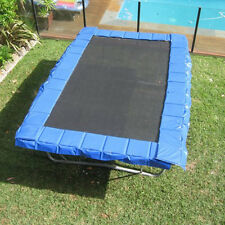 Rectangular Trampoline Safety Pads in Blue 18m