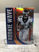 2020 Panini Playoff Football Jalen Reagor RC Silver Prizm Holo Rookie Wave NFL