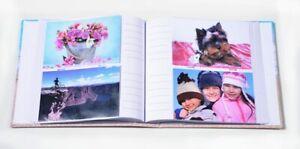 "Memories 200 Holds Slip In Photo Album 4'' x 6""With Memo Area"