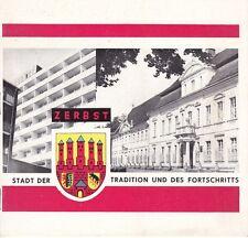 Seltene Chronik == Zerbst - Stadt der Tradition und des Fortschritts