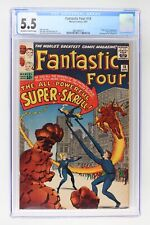 Fantastic Four #18 - Marvel 1963 CGC 5.5 Origin and 1st Appearance of the Super-