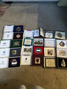 white house christmas ornament lot 13 1995-2003 And 2005-2008