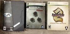 Lot of collectors edition games for xbox 360 Halo 4, Saints Row 2, Splinter Cell