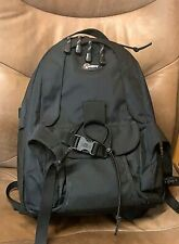 Lowepro MINI TREKKER CARRYING CAMERA BACKPACK Black EXCELLENT used condition