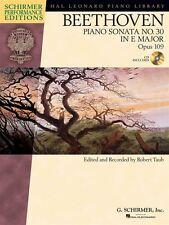 Ludwig van Beethoven: piano Sonate No 30 dans e Op. 109