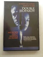 Movie DVD Double Jeopardy-Tommy Lee & Ashley Judd, Widescreen Collection- Used