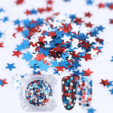 1.2g BORN PRETTY Glitter Star Nail Sequins Flakies Nail Art Paillette Manicure