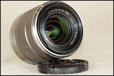 Sony E Mount SEL1855 18-55mm f/3.5-5.6 Silver OSS Lens in EX+ Condition