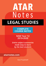 HSC Legal Studies Complete Course Notes
