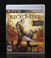 Kingdoms of Amalur Reckoning PS3 Playstation 3 Complete CIB Near Mint & Tested
