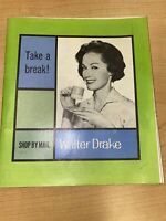 1960's Walter Drake And Sons Shop By Mail Catalog 64 Pages