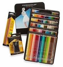 Prismacolor Premier Colored Pencils, Soft Core, 132 Pack 4484 with 2 Blender 962