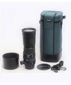 Sigma APO 170-500mm F/5-6.3 AF Zoom Telephoto Lens For Sony A Mount