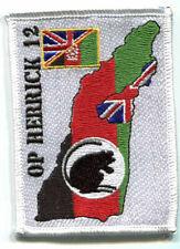 NATO ISAF JSOP BRITISH OP HERRICK 12 SAS CAMP BASTION UK/AFGHAN burdock INSIGNIA