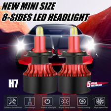 8-Sides CSP H7 LED Headlight Bulbs Kit 2200W 350000LM Super Mini Fog Lamp 6000K~