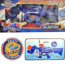 Super Blaster Nerf estilo pistola de fuego rápido 40 Balas Dardos Suave Juguete Gafas De Seguridad