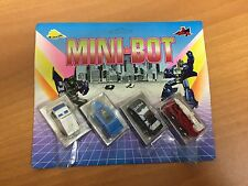 VINTAGE 80'S MINI BOT MICROMASTER AUTOCHANGE MOC TRANSFORMERS UNUSED