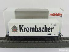 Märklin Basis 4481 Bierwagen (Container) Krombacher Bier Sondermodell mit OVP