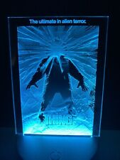 The Thing Light Up Mini Poster By Chainsaw Graphics Carpenter Russell Acrylic
